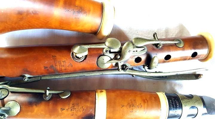 Clarinette en La de BÜHNER et KELLER  à Strasbourg
