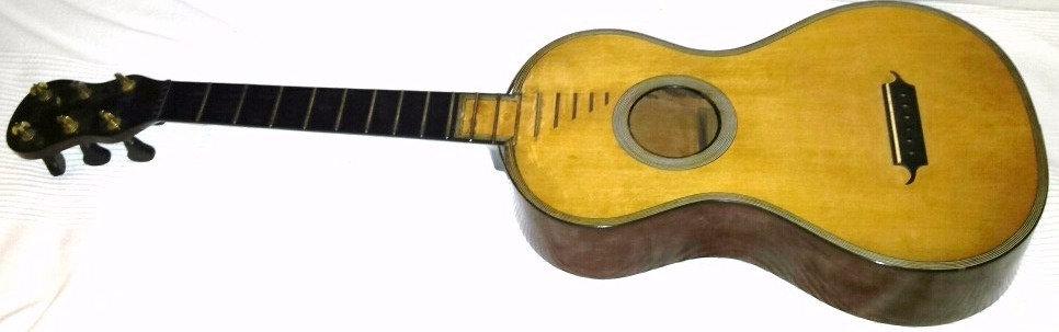 Guitare Romantique René Lacôte 1824 à Paris