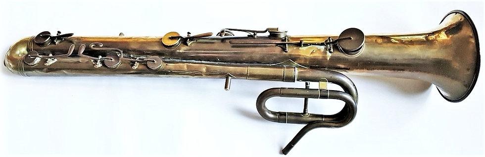 Ophicléide de Jean Finck facteur d'instruments de musique en cuivre à Strasbourg