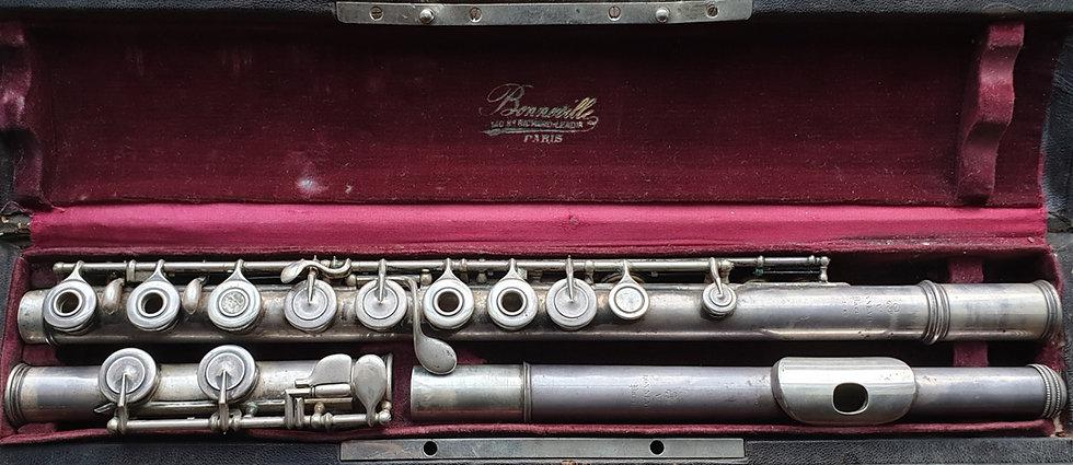 flûte bonneville argent massif 3042