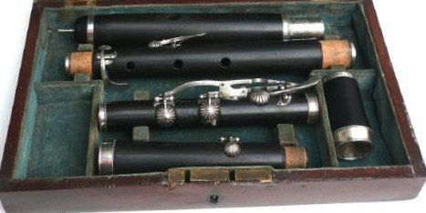 Exceptionnelle flûte de Charles Joseph Sax