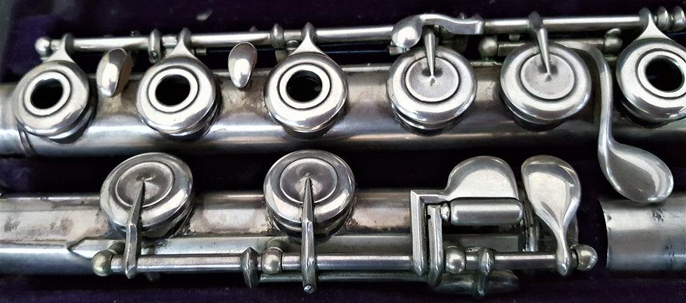Flute Louis Lot argent massif