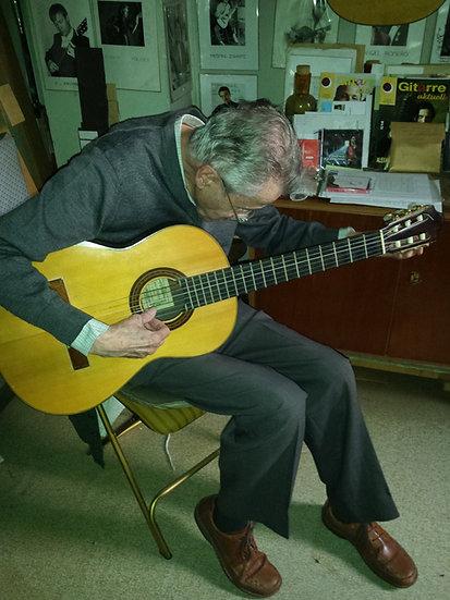 Guitare Classique Daniel Friederich de 1964