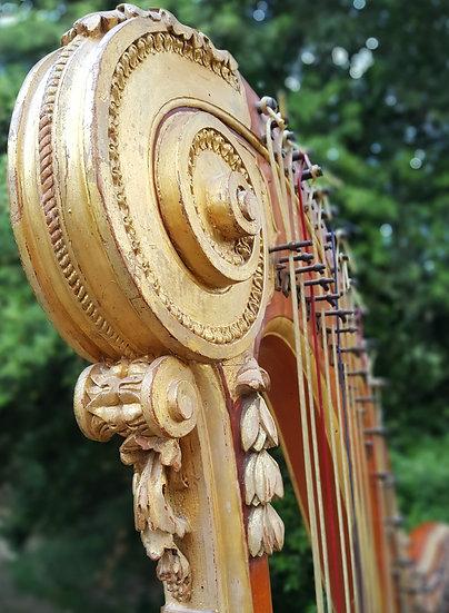 Harpe de Georges Cousineau vers 1780 / Cousineau Harp