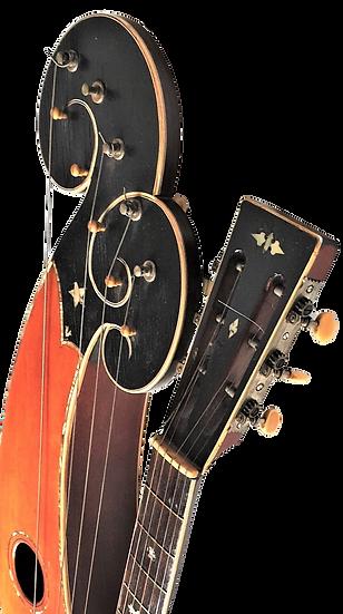 Guitare Harpe de Larson Brothers vers 1910 Dyer Style 7/8