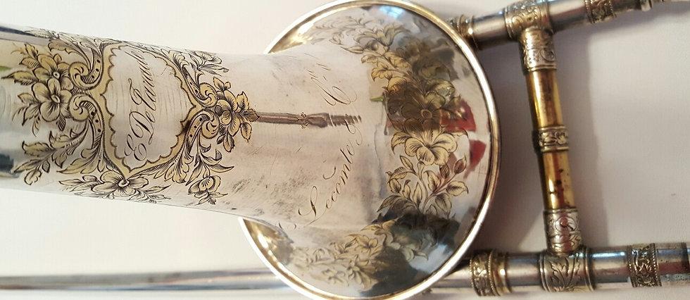 Trombone de Lecomte ayant appartenu à Detarade