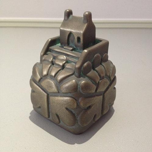 St Nicholas Chapel. Cold Cast Bronze.