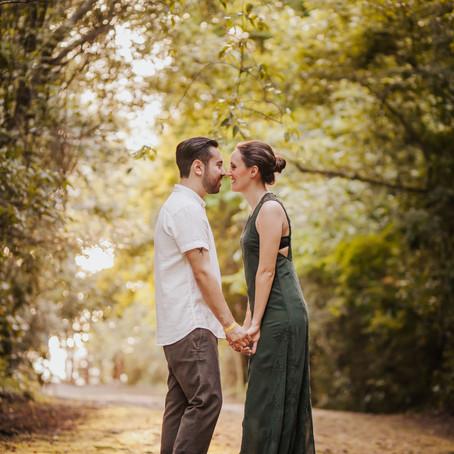 Fer & Hugo Sunset Engagement Photoshoot