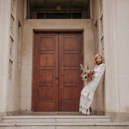 Auckland Bridal Shoot with the Sleek Avenue - Look Three
