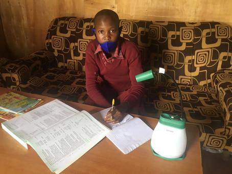 Solar Lanterns & Books Change Lives