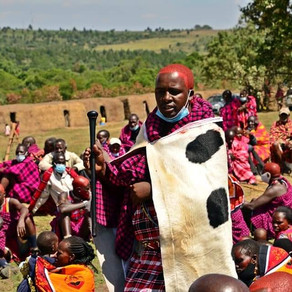 Emanyata Oolorikan 'Olng'esherr' rite of passage in the Maasai community