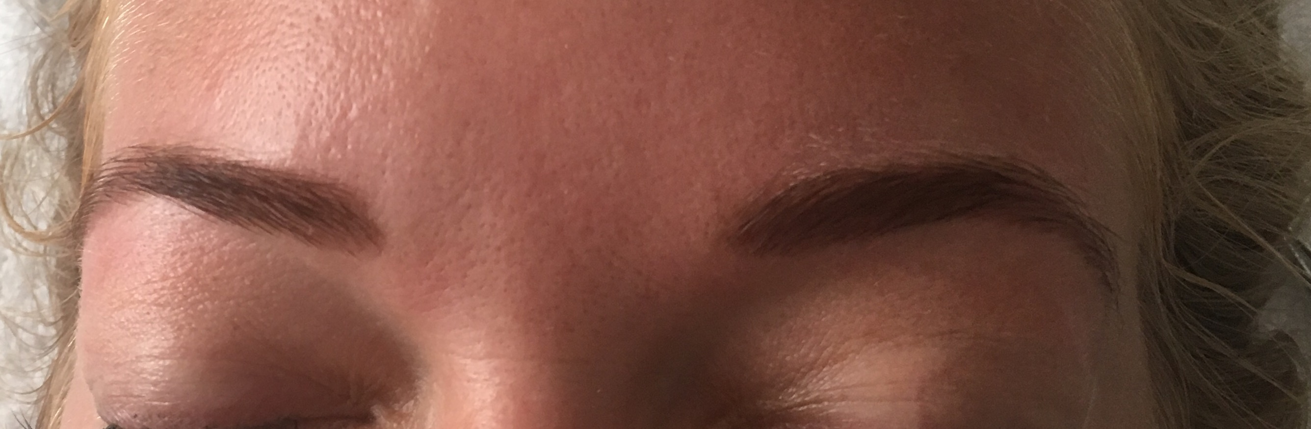 Tinted Middle Brown Brows