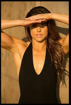 Custom Airbrush Tan for Photo Shoot