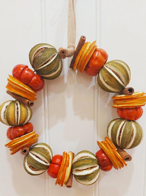 Green Orange, Orange Slice, Pumpino and Cinnamon Ring