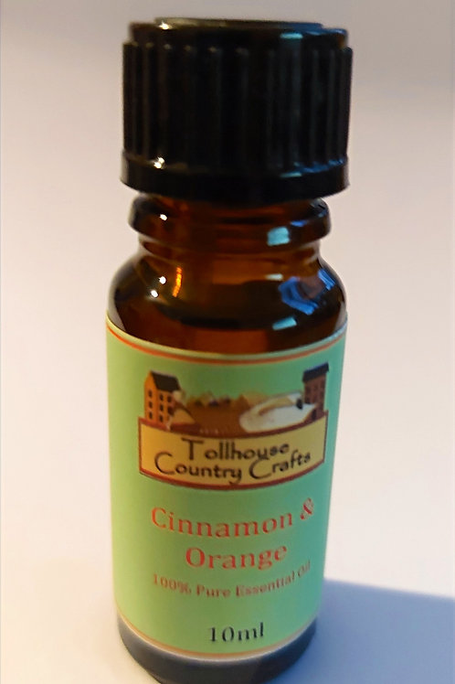 Orange and Cinnamon Essential Oil