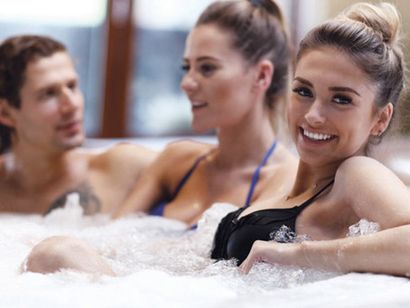 Life's better in a hot tub - 5 reasons