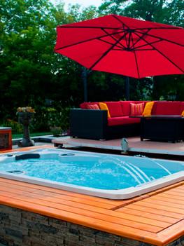 HP15-2272 Niagara Stone 12ft Swim Spa (8