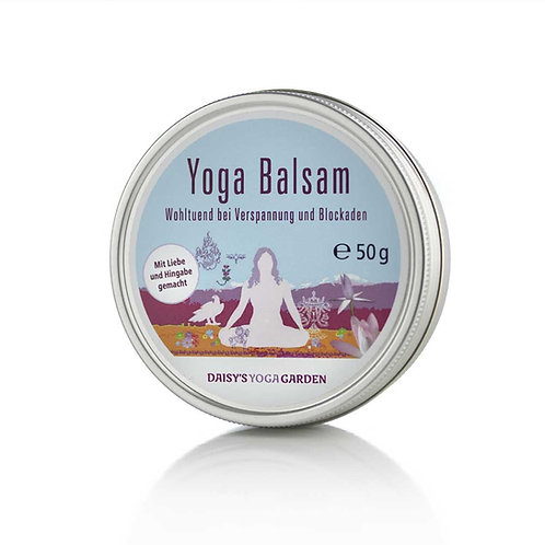 Yoga Balsam – wohltuend bei Verspannung und Blockaden