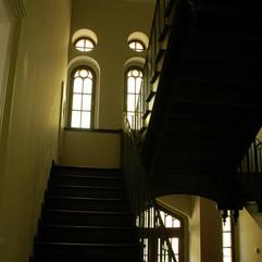 okna klatki schodowej