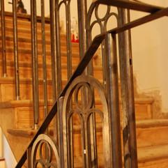 balustrada - w trakcie prac