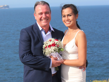 A wedding by the sea might be your wonderful memory!