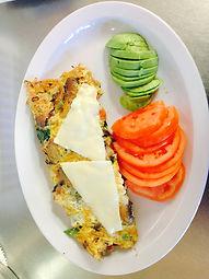 California Omelette with avocado