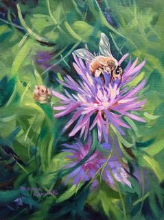 """Honey Bee Heaven"""" $250 6""""X9"""""""