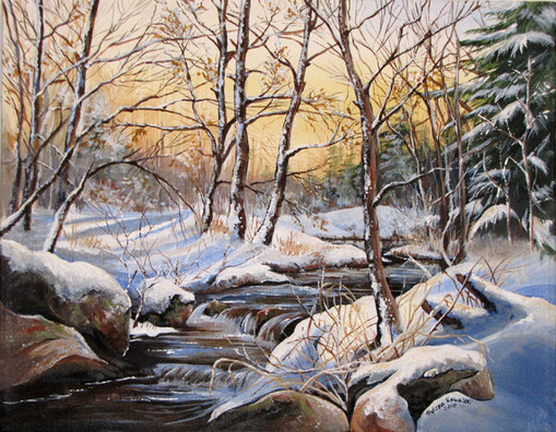 """SOLD """"Winter's Silence"""""""