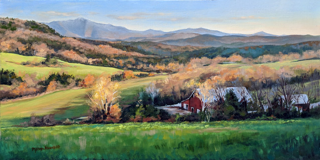 SOLD -Late Autumn in Buck Hollow