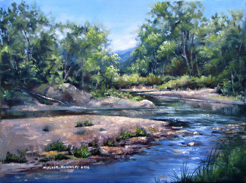 """""""Early Summer on Mad River"""" SOLD"""