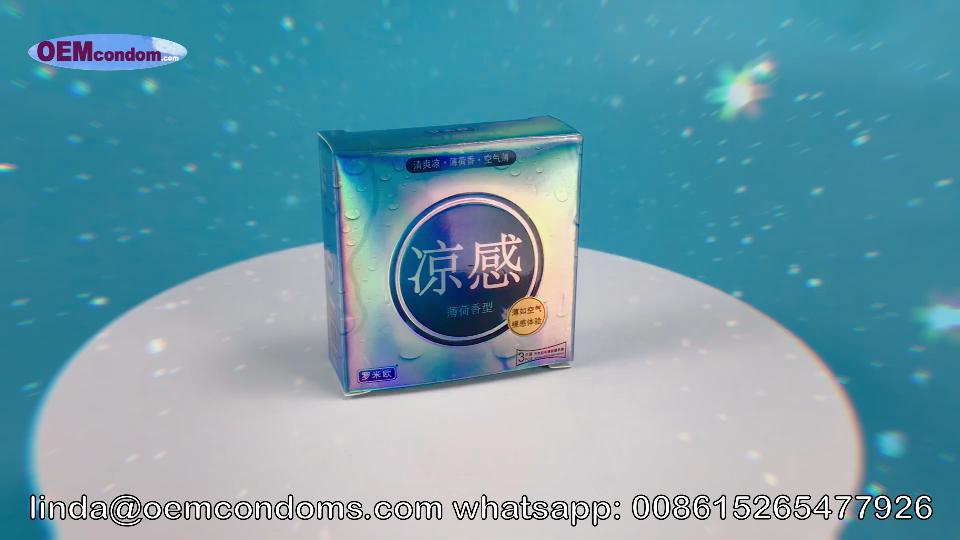 cooling condom, cooling condom manufacturer