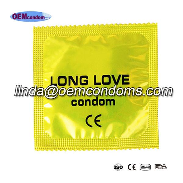 long love condom, delay condom supplier
