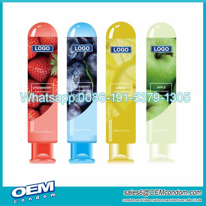 Fruit Flavored Personal Lubricant for Private Label Supplier