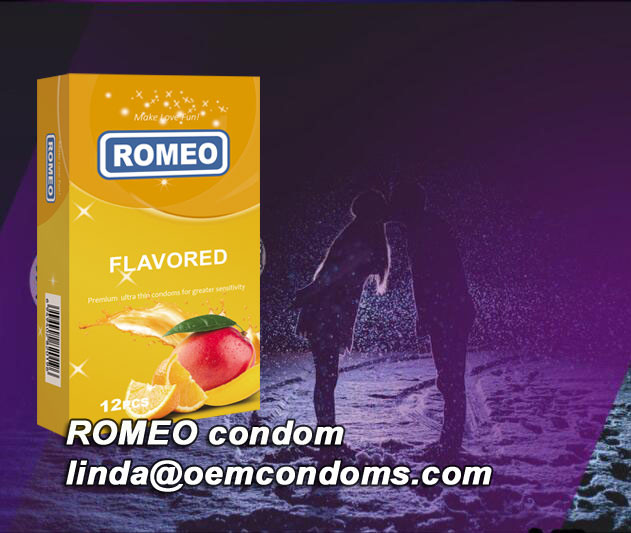 ROMEO flavored condom enhance the pleasure for both you and her!