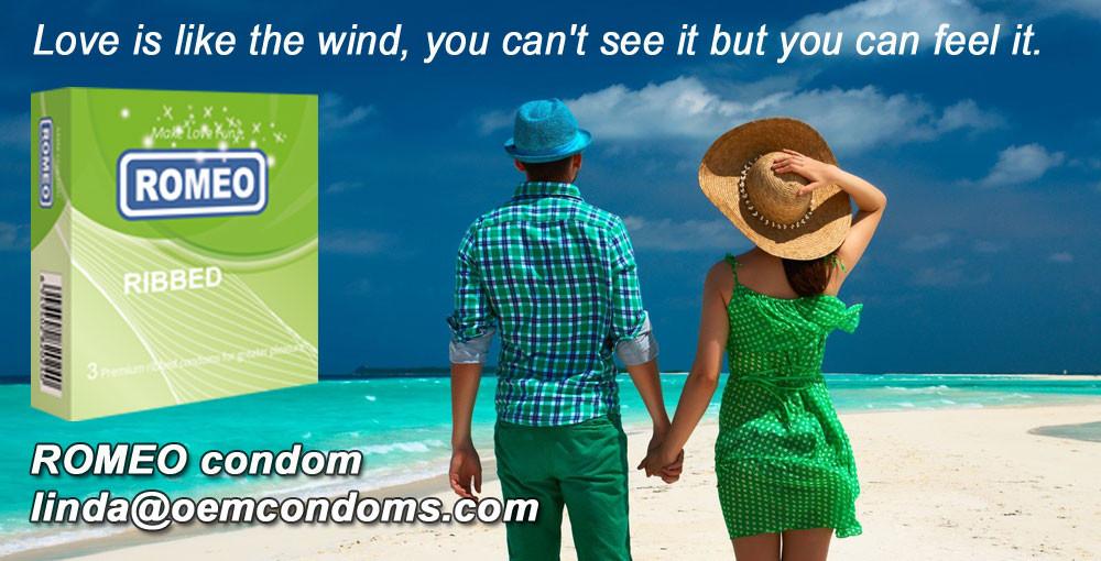 ROMEO Ribbed condoms- For all night pleasure