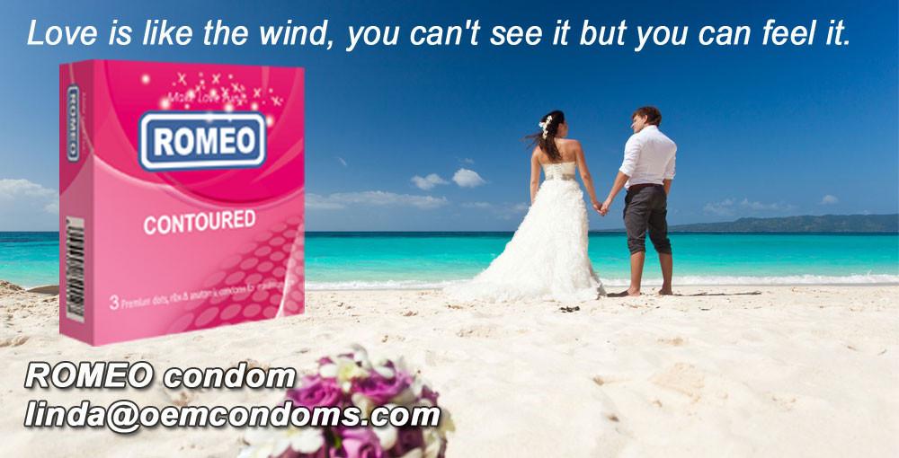 ROMEO condom, best brand condom supplier, custom brand condom manufacturer