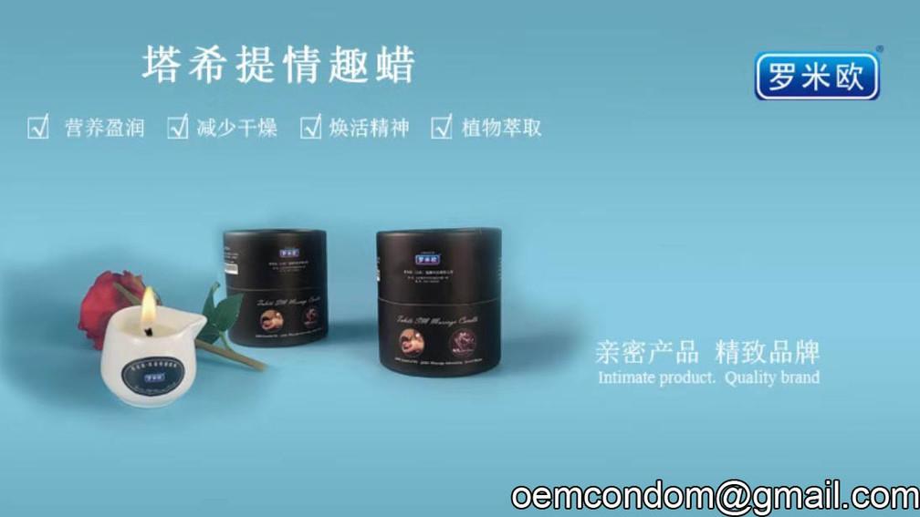 SM Low Temperature Massage Candles