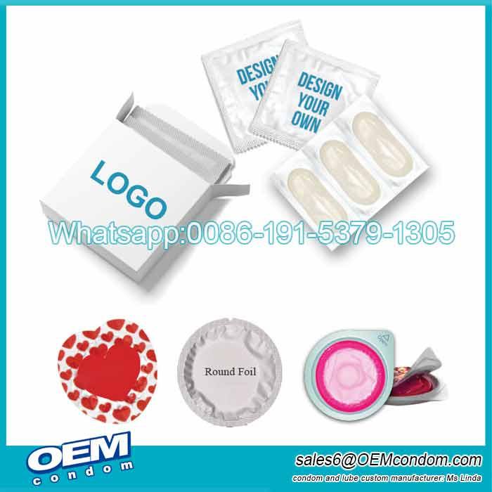 OEM LOGO BRAND Foiled Condom Wrapper Producer