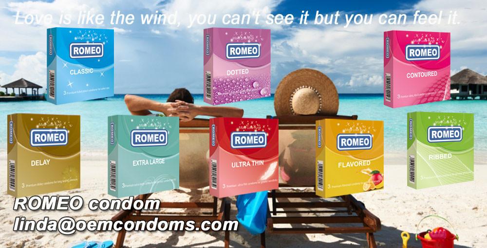 ROMEO brand condom, OEM brand condom manufacturer
