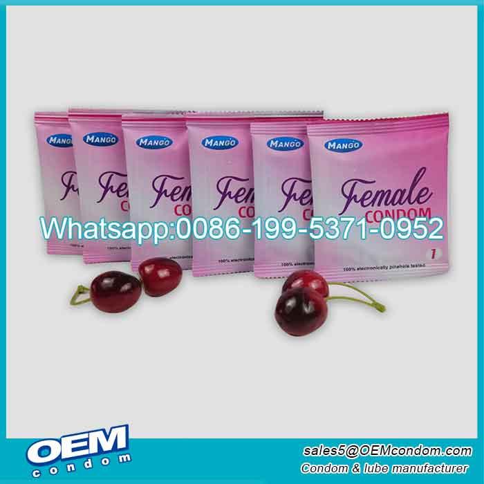 Custom private label condoms for women