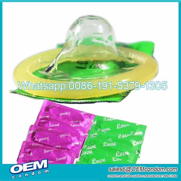 OEM Condom x100 cheap price bulk condom producer