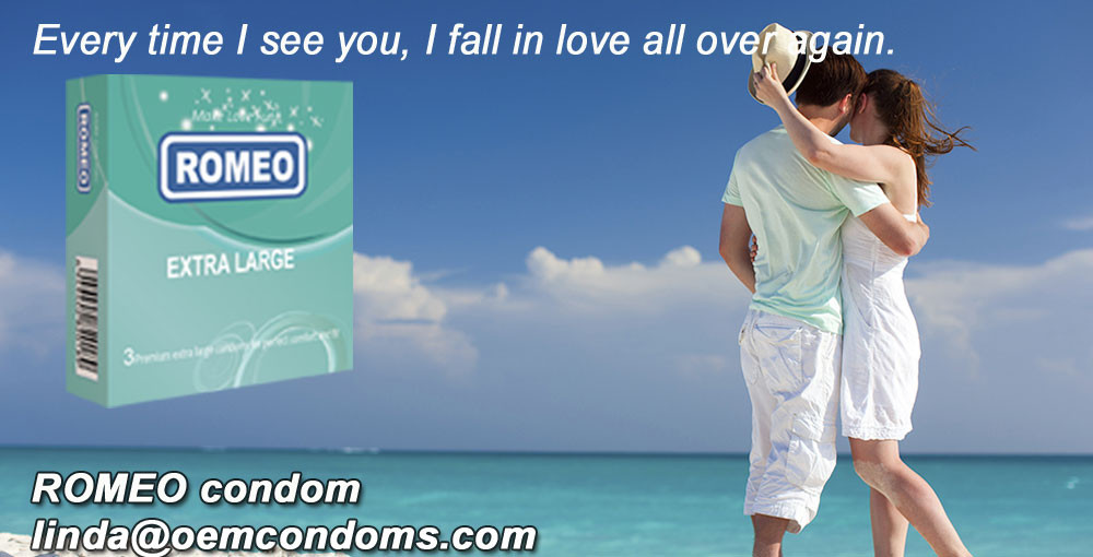 ROMEO brand condom, large condom manufacturer, extra large condom supplier