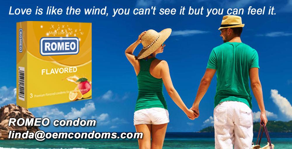 ROMEO flavored condom manufacturer