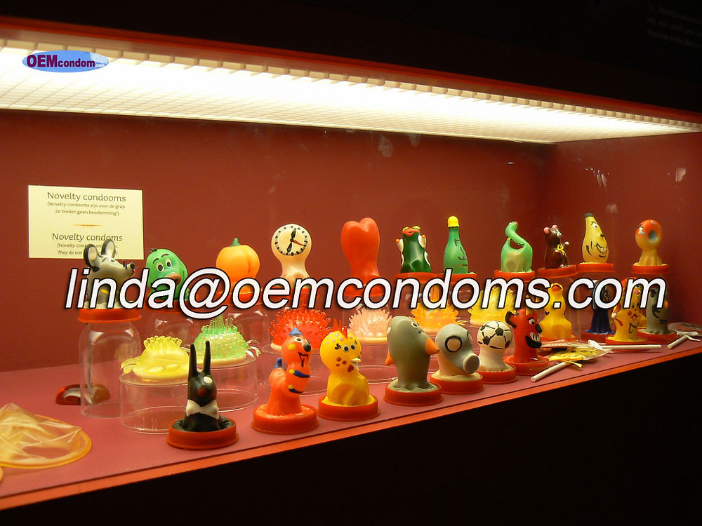 wacky spike condom, wackiest rubber condom factory