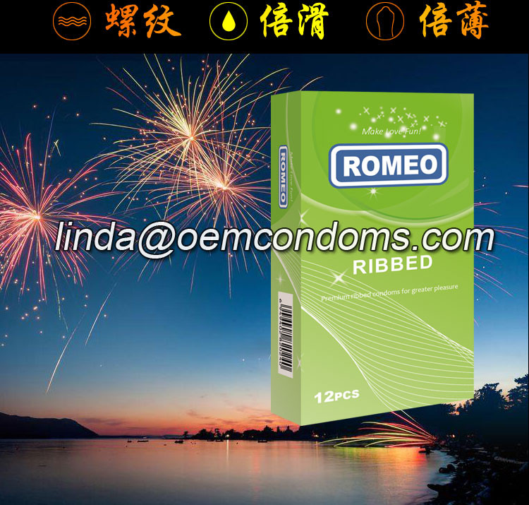 ROMEO ribbed condom distributors and suppliers