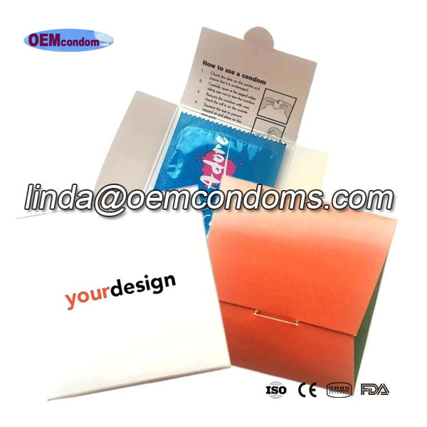 Custom kondom wrapper manufacturer