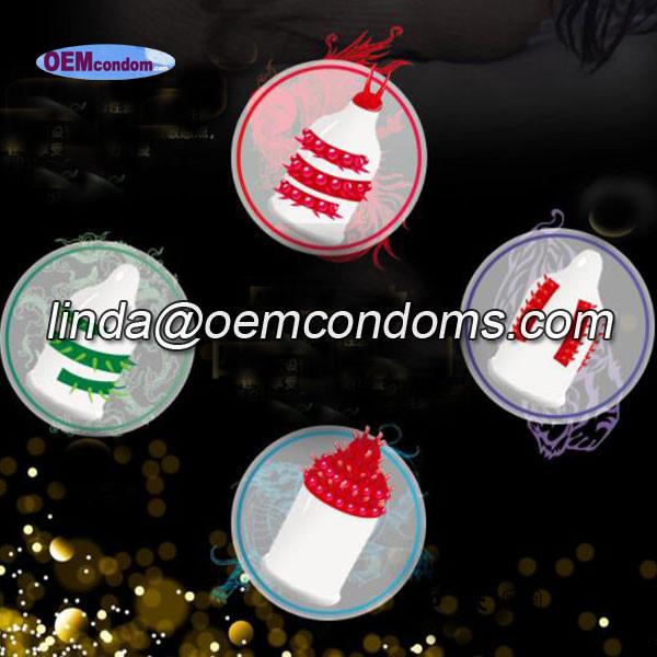Spike condom,Custom spike condom manufacturer, OEM spike condom