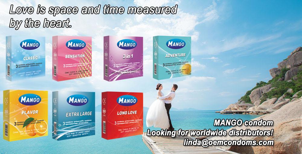 MANGO condom, best brand condom, custom brand condom manufacturer