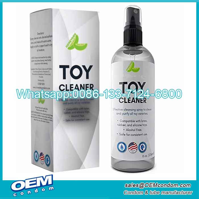 sex toy cleaning spray manufacturer