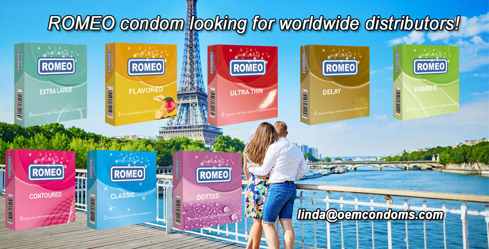 ROMEO brand condom are easily enter into the pharmacies or drug stores